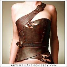 asymmetrical corset