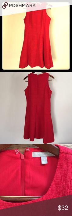Banana Republic Red Textured Dress Size 8 Banana Republic red textured dress size 8 lined. Banana Republic Dresses