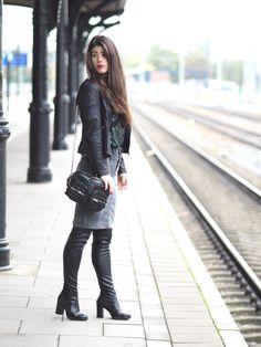 Corduroy skirt or trousers Vero Moda collaboration OOTD Fashionblogger