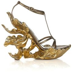 Alexander McQueen Sculpted sandals.