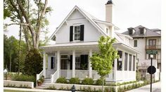 Charming cottage, less than 2,000 sq.ft.  Sugarberry Cottage, plan #1648