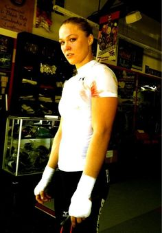 Rowdy Ronda Rousey, Olympic Medalist Judoka and current Strikeforce womens bantamweight champion. sports