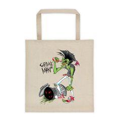 """Garbage Man 2014 """"Trash Man"""" tote bag"""