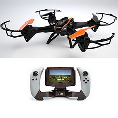 CY RC Drone with Camera Include Fpv Screen on Remote Controller Fpv Quadcopters With Camera Black * Click on the image for additional details. This Amazon pins is an affiliate link to Amazon.