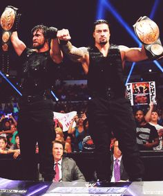 Seth Rollins and Roman Reigns Dean Ambrose Shield, Roman Reigns Dean Ambrose, Wrestlemania 29, Wwe Seth Rollins, Wwe Pictures, The Shield Wwe, Roman Reings, Kenny Omega, Wwe Roman Reigns