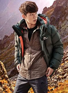 Jeon Ji Hyun and Nam Joo Hyuk continue to be the faces of NEPA. Take a gander at their F/W 2015 visuals for the outerwear brand.    Sources | NEPA | NEPA Blog