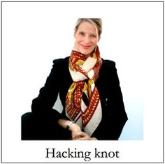 Hacking knot - Hermes scarf tutorials by MaiTai Collection
