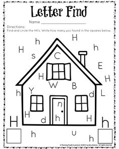 69 Best Letter H Activities Images In