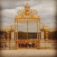 Gates of Versailles- Paris France