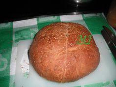 Pan casero de ajo y orégano
