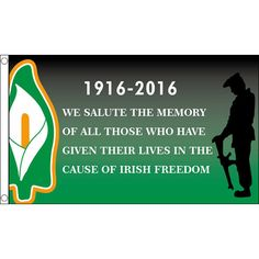 Irish Freedom Easter Rising Flag - Large 5 x x - Irish Republican Brand New & Sealed - Polyester - In Stock - Fast 24 Hour Dispatch! Celtic Pride, Irish Pride, Celtic Fc, Irish Tattoos, Wing Tattoos, Celtic Tattoos, Sleeve Tattoos, Ireland 1916, Irish Quotes