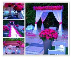 Wedding ceremony canopy