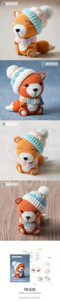 Fox Alice Amigurumi Pattern