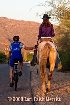 MT. BIKERS vs EQUESTRIANS: An explanation of horses to bikers - written by a biker   Horse and Man