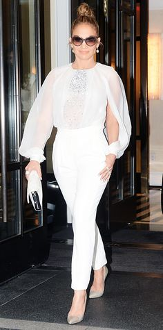 Look of the Day - May 13, 2014 - Jennifer Lopez in Zuhair Murad from #InStyle