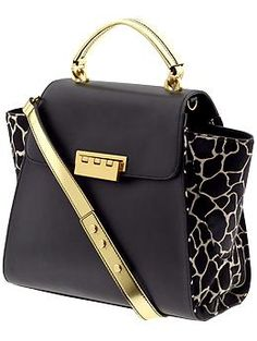 Z Spoke Zac Posen Eartha Hinged Top Handle | Piperlime. So, I said I wanted a new purse...can I have this one?!