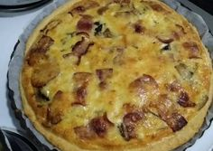 Quiche, Savoury Pies, Cooking, Breakfast, Pastries, Desserts, Cakes, Food, Kitchen