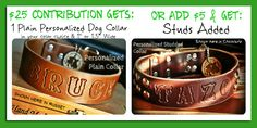 Check out all the perks on Babys Medical Bills Threaten A Small Dog Collar Business @Indiegogo @Xavi Caballé@ Bully Mart