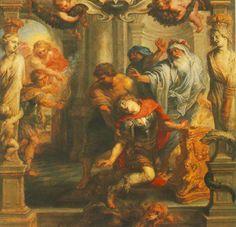 La Muerte de Aquiles, Rubens.