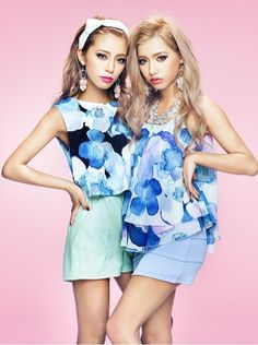Yui and Mami on the magazine cover of Happie Nuts May 2013 Gyaru Fashion, 3d Fashion, Kawaii Fashion, Korean Fashion, Fashion Beauty, Womens Fashion, Female Fashion, Style Fashion, Japanese Models