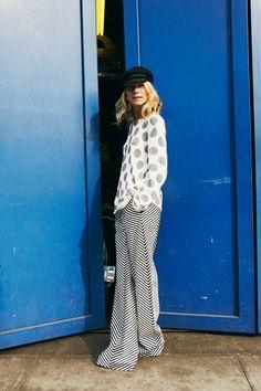 Polka dots & geometric stripes! #ylc #trends2014 #jessicahuffman