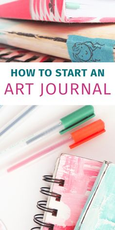I LOVE my art journal. Here are some ideas and inspiration on how to start your own art journal. It's a great way to chronicle your thoughts in a visual way and you don't have to be an artist to have one! Art journals are great for therapy, memory keeping, and visual journaling. I seriously love mine.