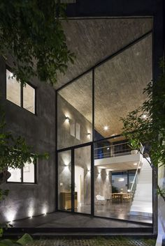 Residential Building Design, Ho Chi Minh City, Photo Studio, Concrete, Photo And Video, Places, Projects, Taiwan, Houses