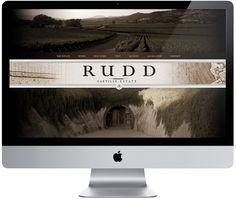 Rudd Winery Website on Behance