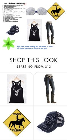 """""""My favorite quote"""" by horses4ever1322 ❤ liked on Polyvore featuring Aerie"""