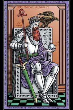 Tarot of the Sevenfold Mystery: 4. O Imperador