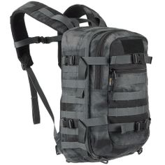 Wisport Sparrow backpack in A-TACS LE camo. Part of Wisport line of compact survival backpacks, made of Cordura Nylon developed in collaboration with Polish Military forces. With 20 litres capacity, large main compartment additional pockets, ergonomically shaped padded shoulder straps multiple attachments points. Perfect day pack for everyone. Only £69.99.