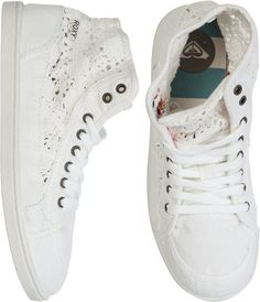 Designer Clothes, Shoes & Bags for Women Roxy Shoes, Cute Shoes, Me Too Shoes, Lauren Hardy, Crochet Shoes, High Top Sneakers, Shoes Sneakers, Fashion Accessories, Pumps