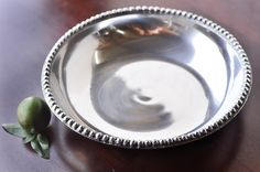 Old Town Imports Aluminum Serveware Beaded Bowl - Medium {PRESALE ONLY}. $27.99 regularly $47.99
