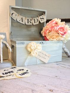 Wedding Shabby Chic Guest Book Alternative by Burlap and Linen Co on Etsy, $115.00