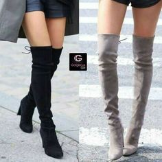 Stylish boots for Fall ⛄😍  Cute or not?  For fashion updates n latest trends ->