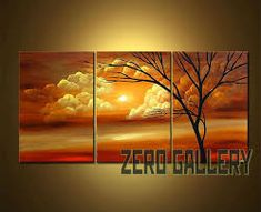2018 Discount Modern Landscape Tree Wall Art Oil Painting Triptych View  Wall Decor Canvas Mediterranean Pictures Movie Poster Ballerine 30247 From  Xmshenyx, $41.01   Dhgate.Com