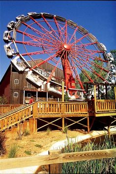 Oklahoma City, OK - Frontier City is an amusement park that originally opened in 1958, utilizing the western town created for the Oklahoma State Fair. The park boasts roller-coasters, other thrill rides, children's rides, games, concerts and more.