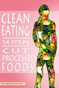clean eating - 12 weeks to cutting out processed food. After over 6 months of training, the biggest thing I've had to learn is that it doesn't matter how much you work out, the ONLY way to really get In shape is to eat CORRECTLY - only whole foods, vegetables, fruits, lean proteins, unprocessed food, and to not overeat.