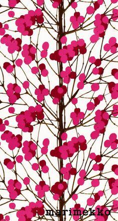 マリメッコ/ネイチャーパターン13 iPhone壁紙 Wallpaper Backgrounds iPhone6/6S and Plus  Marimekko Nature Pattern iPhone Wallpaper