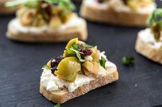 Olive bruschetta