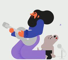 Google Messenger Redesign Animation