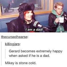 Except Mikey is really an awesome uncle