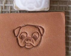 Custom Leather Stamp or Leather Embossing Die - Super Small Size