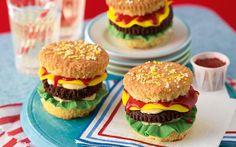 Burger Cupcakes on Pinterest | Cupcake, Cakes and Burgers
