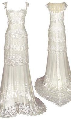 Claire Pettibone Kristene: buy this dress for a fraction of the salon price on PreOwnedWeddingDresses.com