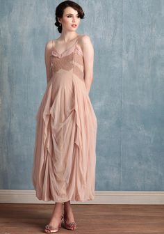 This pink wedding gown is SO pretty! Would you get married in ballerina pink???