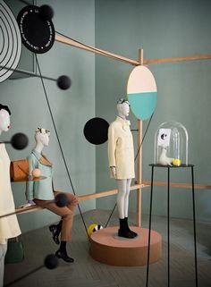BON VOJAGE: Milan Max Mara showcase by Studio Pepe