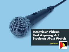 If you want to study art or design in college but don't know where to begin, watch the interview videos from artists and students featured in this post.