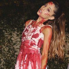 Ariana Grande as a Vampire costume