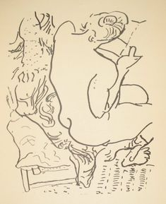First edition of Henri Matisse and Pierre Reverdy: Les Jockeys Camoufles, offered by Manhattan Rare Book Company Henri Matisse, Matisse Kunst, Matisse Drawing, Matisse Art, Life Drawing, Figure Drawing, Painting & Drawing, Picasso, Sketch Art